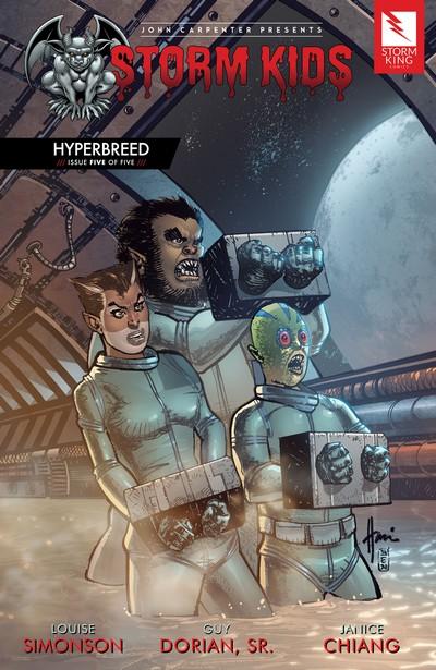 John Carpenter Presents Storm Kids – Hyperbreed #5 (2020)