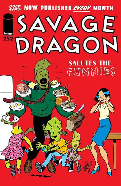 Savage Dragon #252 (2020)