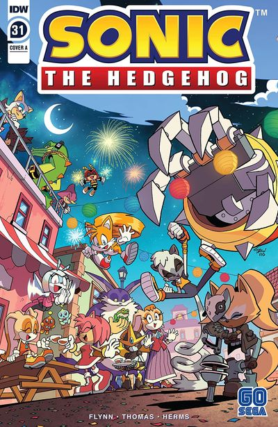 Sonic The Hedgehog #31 (2020)