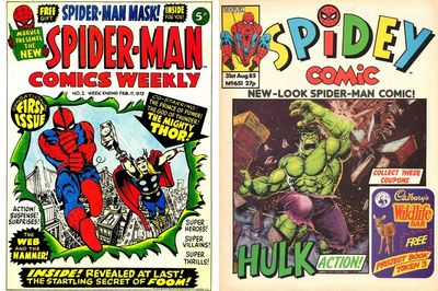 Spider-Man Comics Weekly (Collection) (1973-1987)