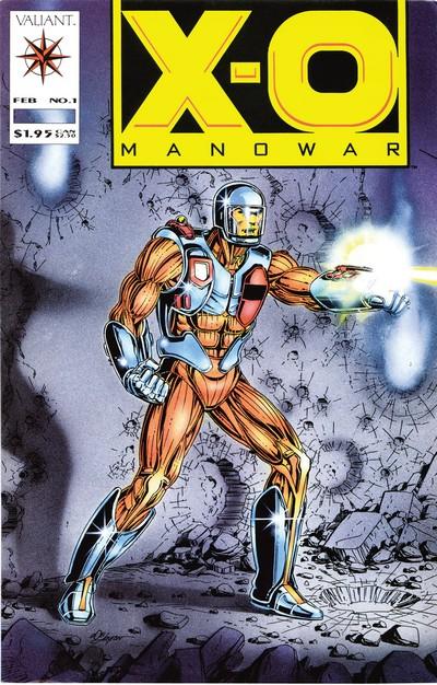 X-O Manowar #0 – 68 (1992-1996)