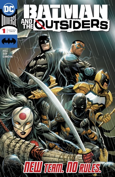 Batman and the Outsiders #1 – 17 + Annual (2019-2020)