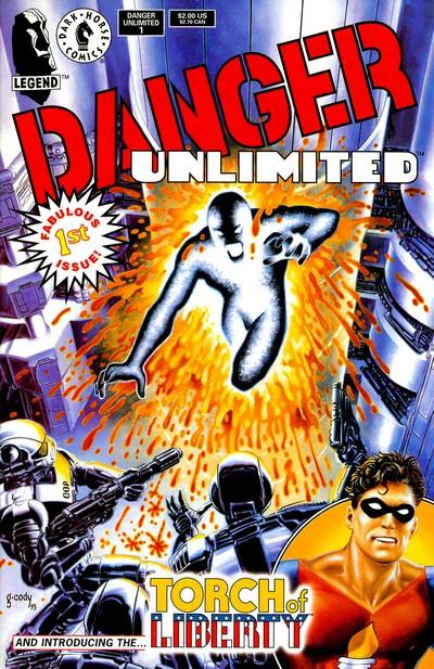 Danger Unlimited #1 – 4 (1994)
