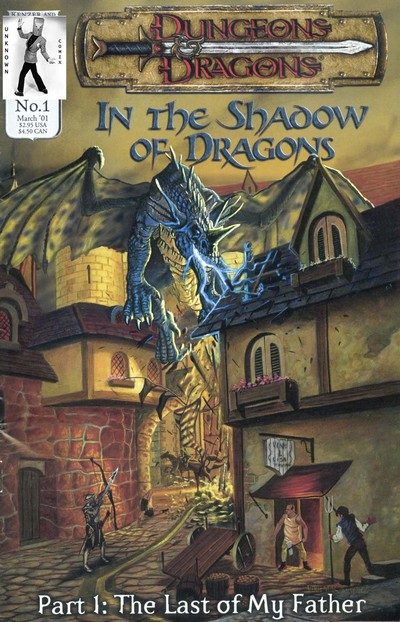 Dungeons And Dragons – In The Shadow Of Dragons #1 – 8 (2001-2002)