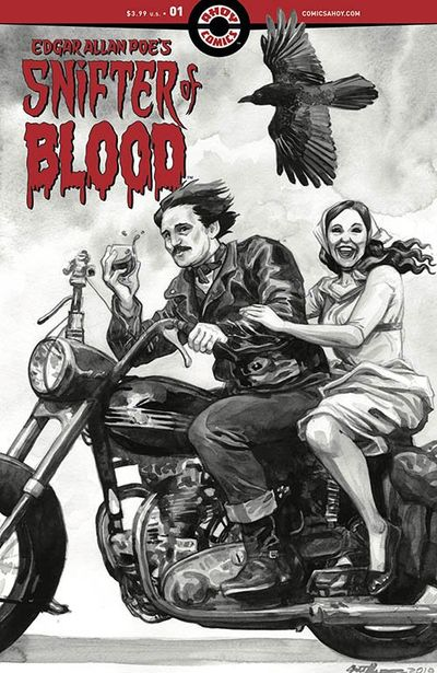 Edgar Allan Poe's Snifter of Blood #1 (2020)