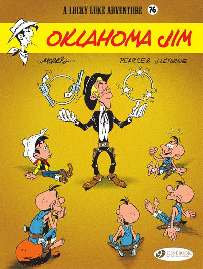 Lucky Luke #76 – Oklahoma Jim (2020)