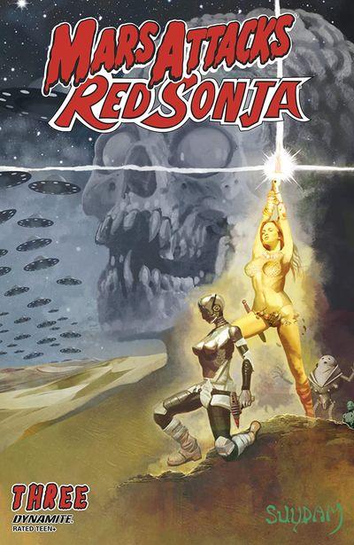 Mars Attacks – Red Sonja #3 (2020)