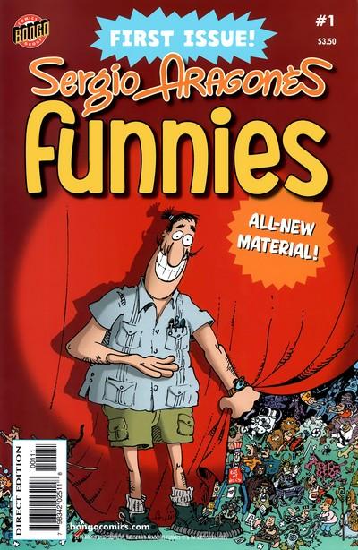 Sergio Aragones Funnies #1 – 12 (2011-2014)