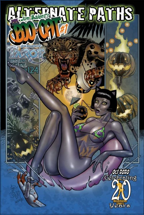 Tarot – Witch of the Black Rose #124 (2020)