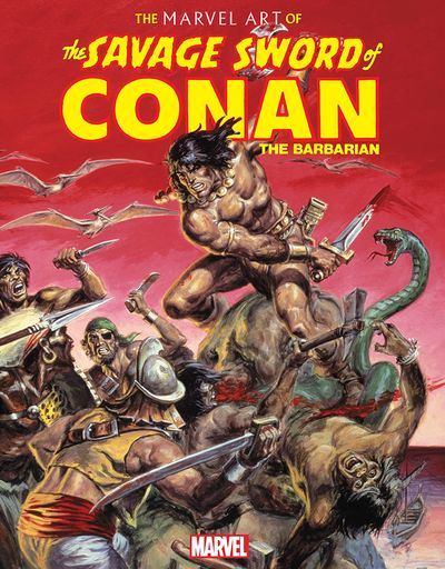 The Marvel Art of Savage Sword of Conan (2020)