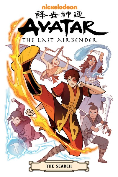 Avatar – The Last Airbender – The Search Omnibus (2020)
