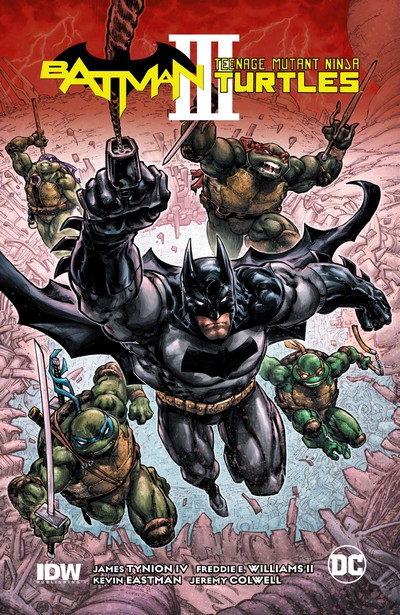 Batman – Teenage Mutant Ninja Turtles III (TPB) (2020)