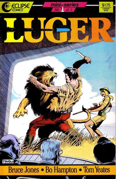 Luger #1 – 3 (1986-1987)