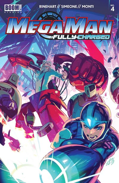 Mega Man – Fully Charged #4 (2020)