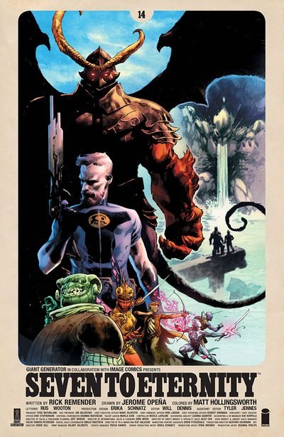 Seven To Eternity #14 (2020)
