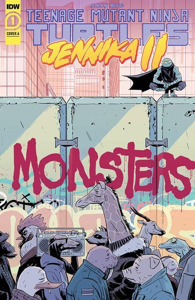 Teenage Mutant Ninja Turtles – Jennika II #1 (2020)