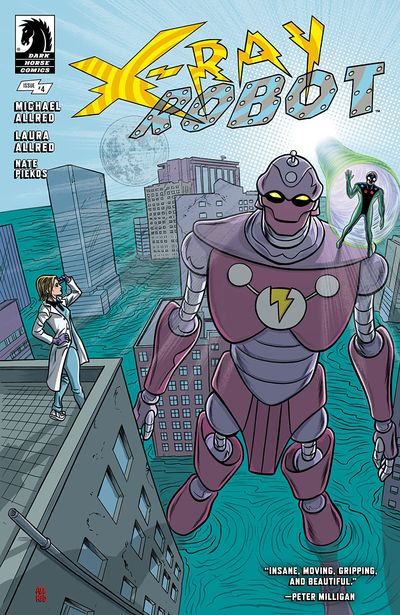 X-RAY ROBOT #4 (2020)