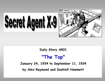 Agent X-9 (Corrigan) (Collection)