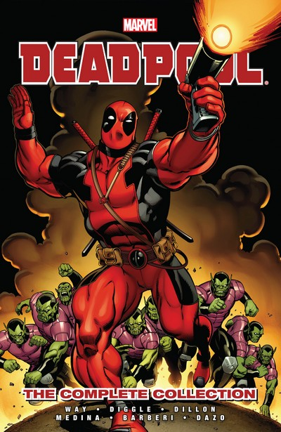 Deadpool by Daniel Way – The Complete Collection Vol. 1 – 4 (2013-2014)