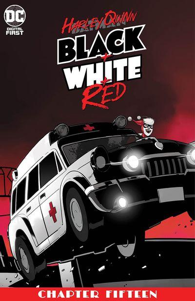 Harley Quinn Black + White + Red #15 (2020)