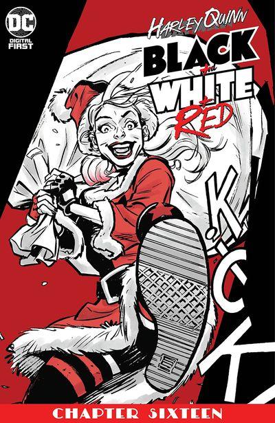 Harley Quinn Black + White + Red #16 (2020)