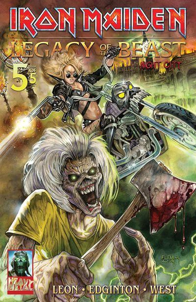 Iron Maiden – Legacy of the Beast – Night City #5 (2020)