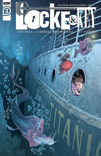 Locke and Key – …In Pale Battalions Go… #3 (2020)