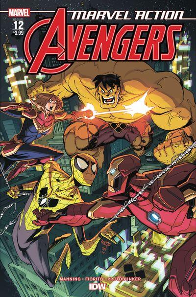 Marvel Action – Avengers #12 (2020)