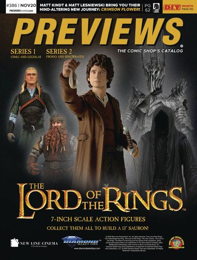 Previews #386 (November 2020 for January 2021)