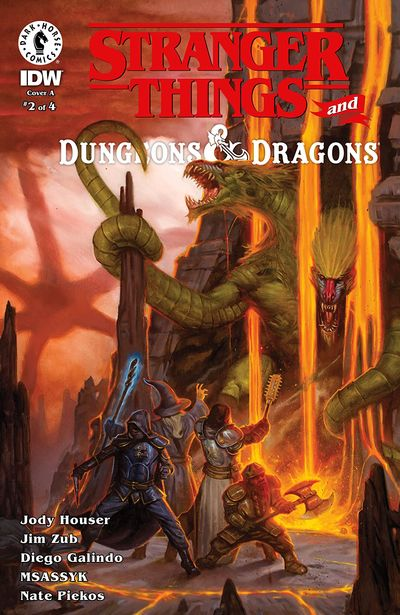 Stranger Things and Dungeons & Dragons #2 (2020)