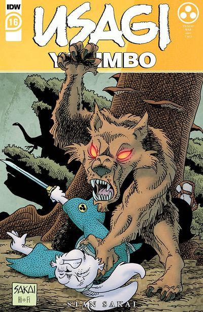 Usagi Yojimbo #16 (2020)