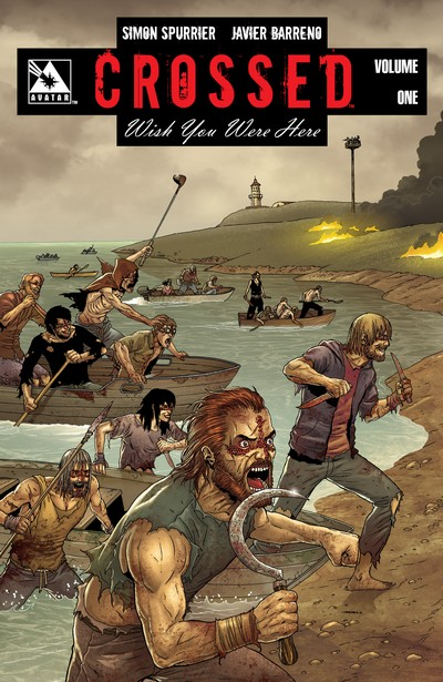 Crossed – Wish You Were Here Vol. 1 – 4 (TPB) (2012-2014)