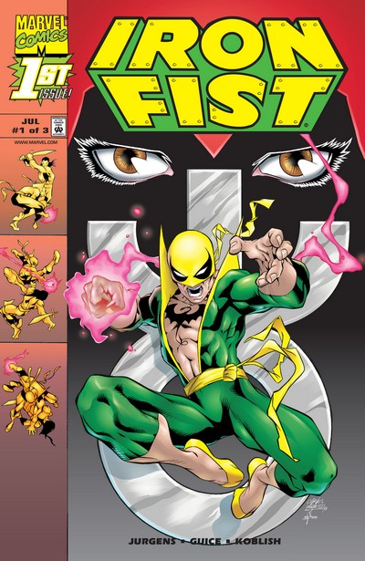 Iron Fist Vol. 3 #1 – 3 (1998)