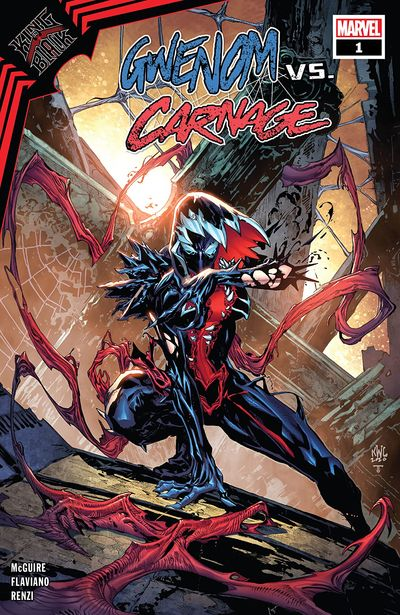 King In Black – Gwenom vs. Carnage #1 (2021)