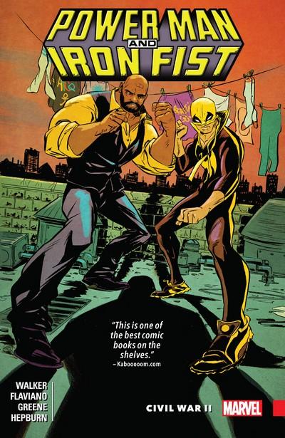 Power Man and Iron Fist Vol. 2 – Civil War II (TPB) (2017)