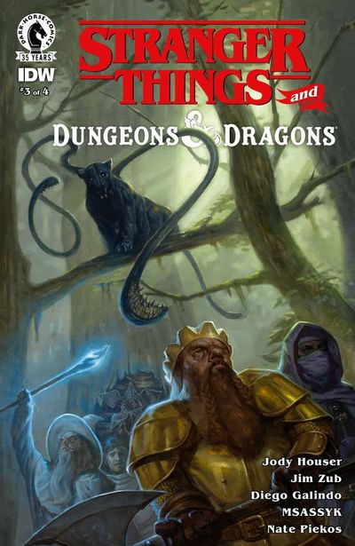 Stranger Things and Dungeons & Dragons #3 (2021)