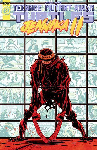 Teenage Mutant Ninja Turtles – Jennika II #3 (2021)