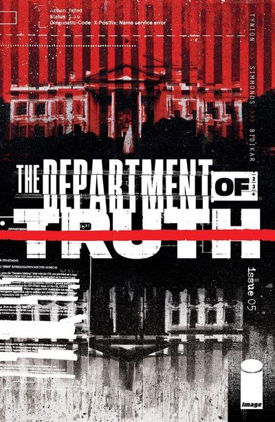 The Department of Truth #5 (2021)