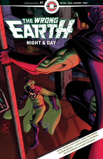 The Wrong Earth – Night and Day #1 (2021)
