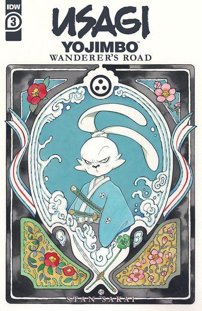 Usagi Yojimbo – Wanderer's Road #3 (2021)