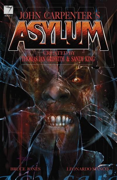 John Carpenter's Asylum #1 – 14 (2013-2016)