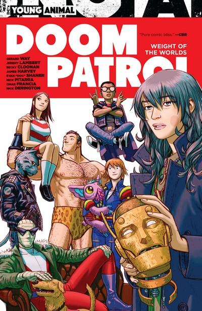 Doom Patrol – Weight of the Worlds (TPB) (2020)