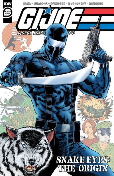 G.I. Joe – A Real American Hero – Snake Eyes – The Origin (2020)