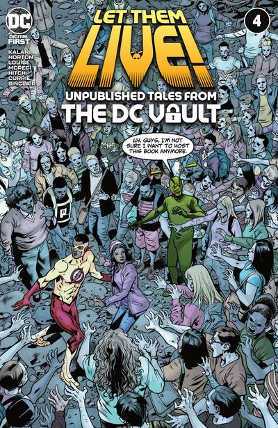 Let Them Live! – Unpublished Tales from the DC Vault #4 (2021)