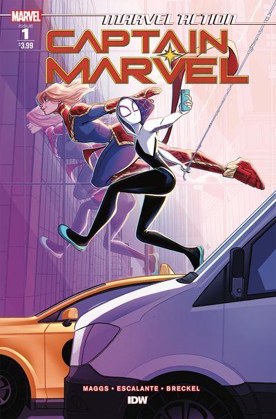 Marvel Action – Captain Marvel #1 (2021)