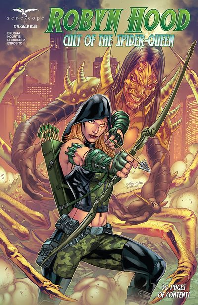 Robyn Hood – Cult of the Spider (2021)