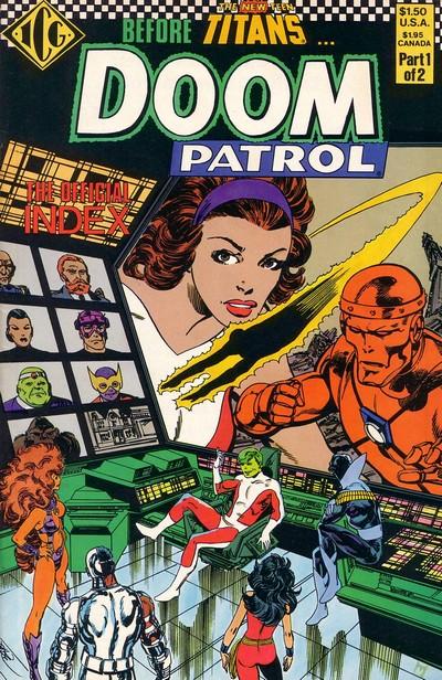 The Official Doom Patrol Index #1 – 2 (1986)