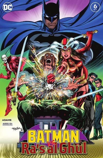 Batman Vs. Ra's Al Ghul #6 (2021)
