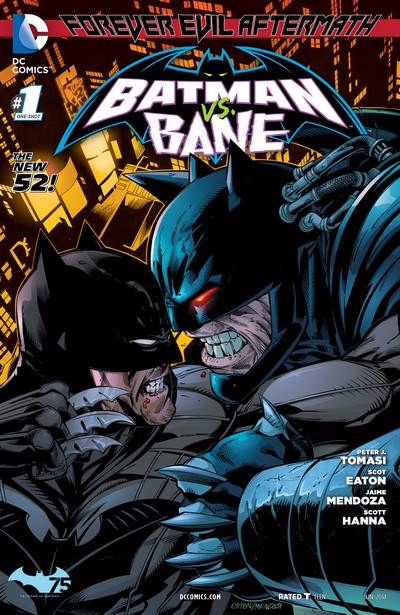 Forever Evil Aftermath – Batman vs. Bane #1 (2014)