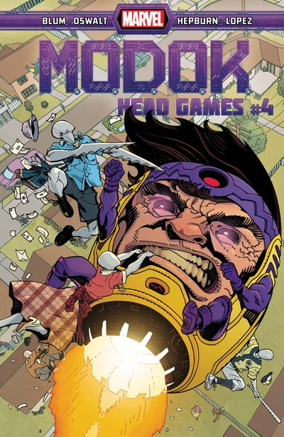 M.O.D.O.K. – Head Games #4 (2021)